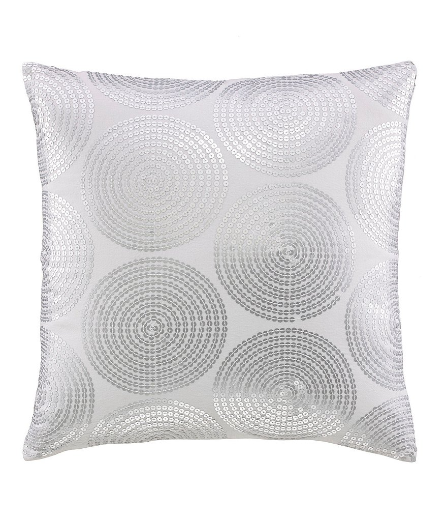 kate spade new york Confetti Sequined Square Pillow