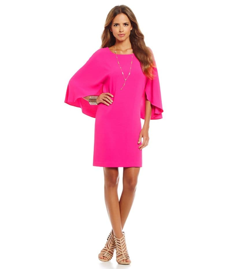 Gianni Bini Isabella Cape Dress