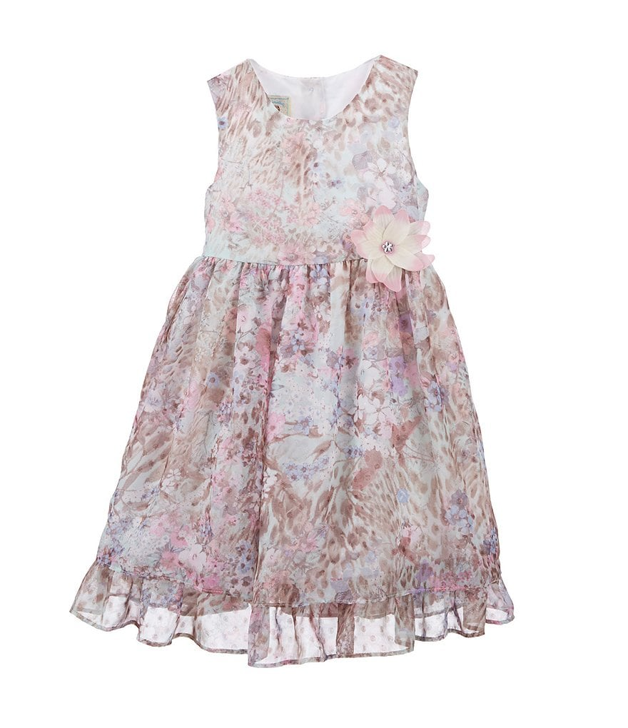 Marmellata 2T-6X Allover Floral Print Dress