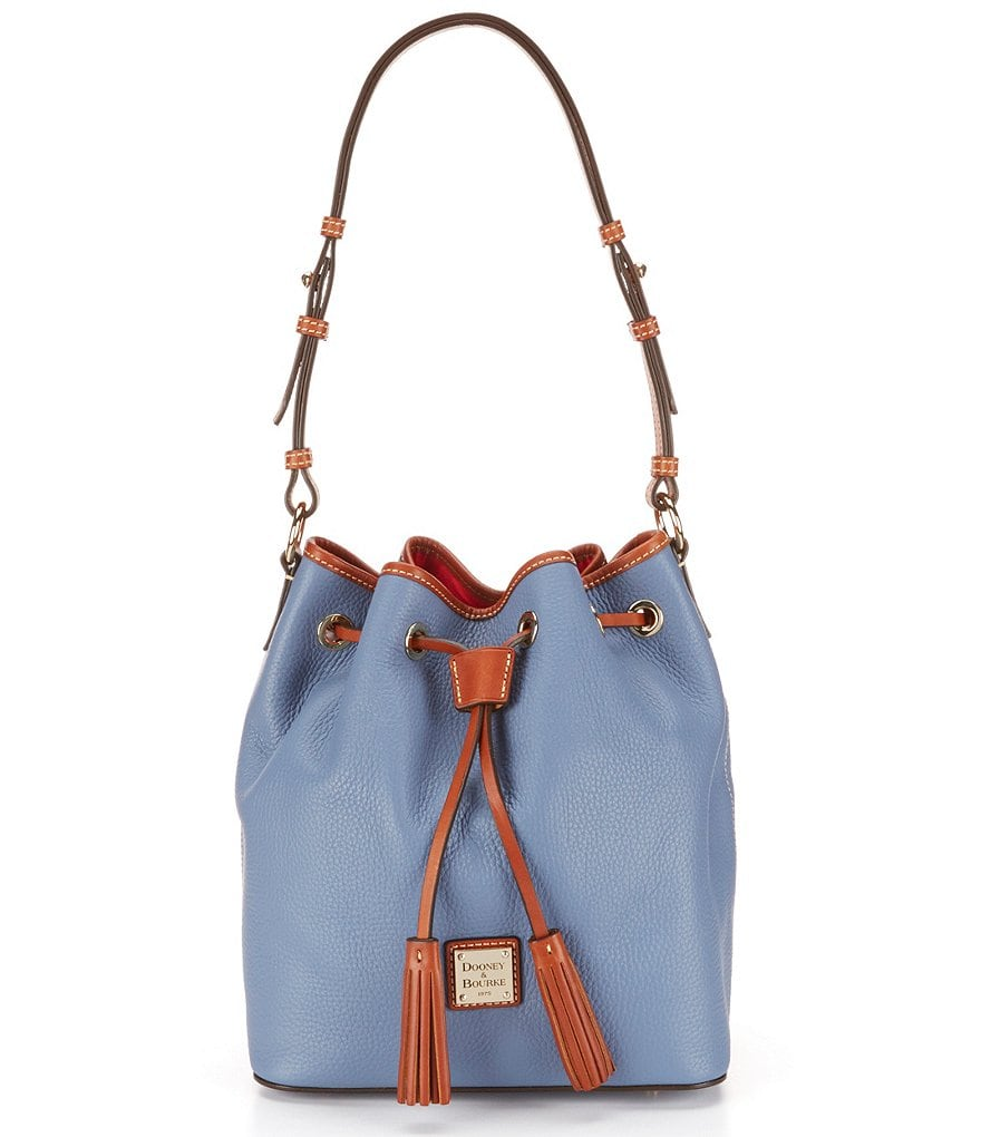 Dooney & Bourke Kendall Tasseled Drawstring Bucket Bag