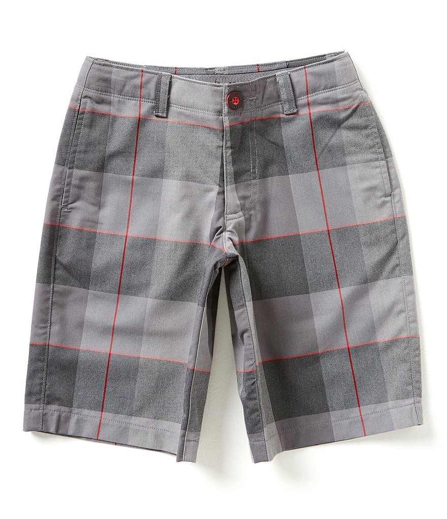 Under Armour Big Boys 8-20 Cross-Hand Yarn-Dye Shorts