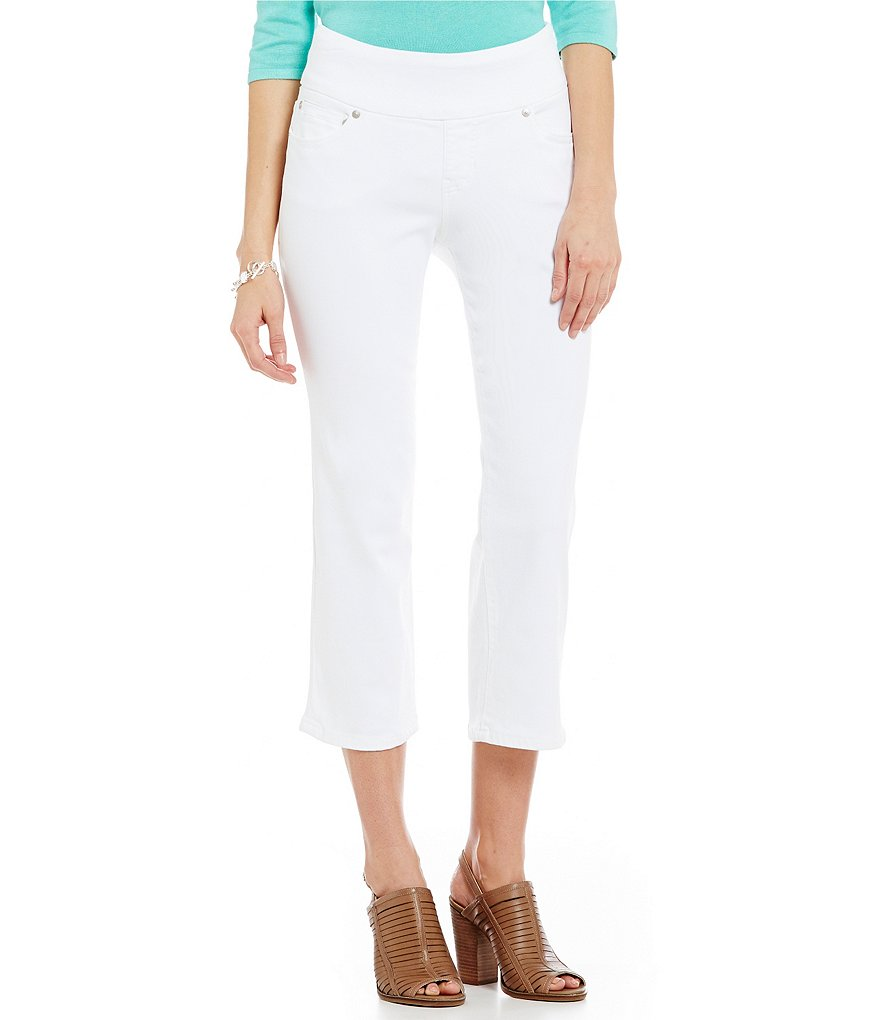 Jag Jeans Echo Pull-On Dolce Twill Classic Fit Crop