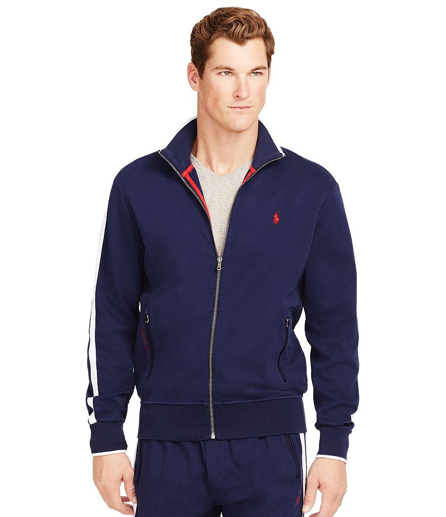 Polo Ralph Lauren Full-Zip Interlock Track Jacket