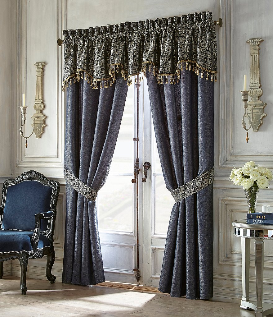 Waterford Vaughan Metallic Medallion Window Treatments