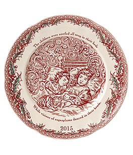 Johnson Brothers ´Twas the Night 2015 Collector Plate Image
