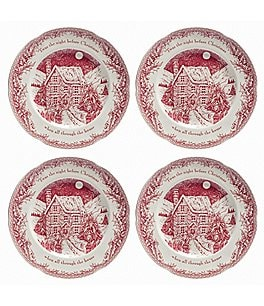 Johnson Brothers ´Twas the Night Dinner Plates, Set of 4 Image