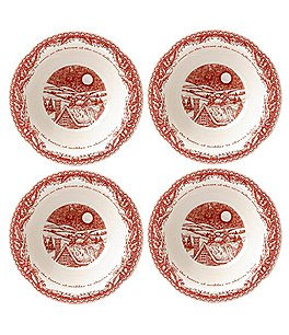 Johnson Brothers ´Twas the Night Cereal/Soup Bowls, Set of 4 Image