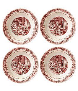 Johnson Brothers ´Twas the Night Fruit Bowls, Set of 4 Image