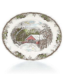 Johnson Brothers Friendly Village Oval Platter Image