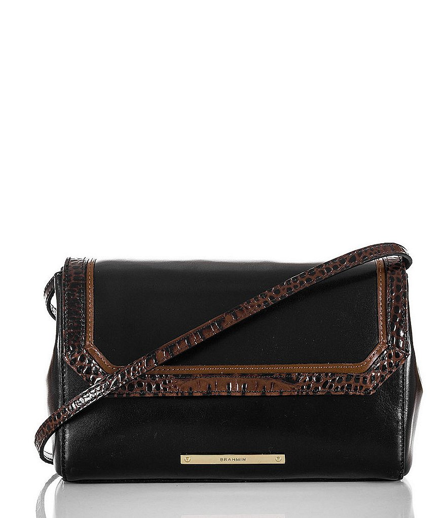 Brahmin Tuscan Tri-Texture Collection Carina Shoulder Bag