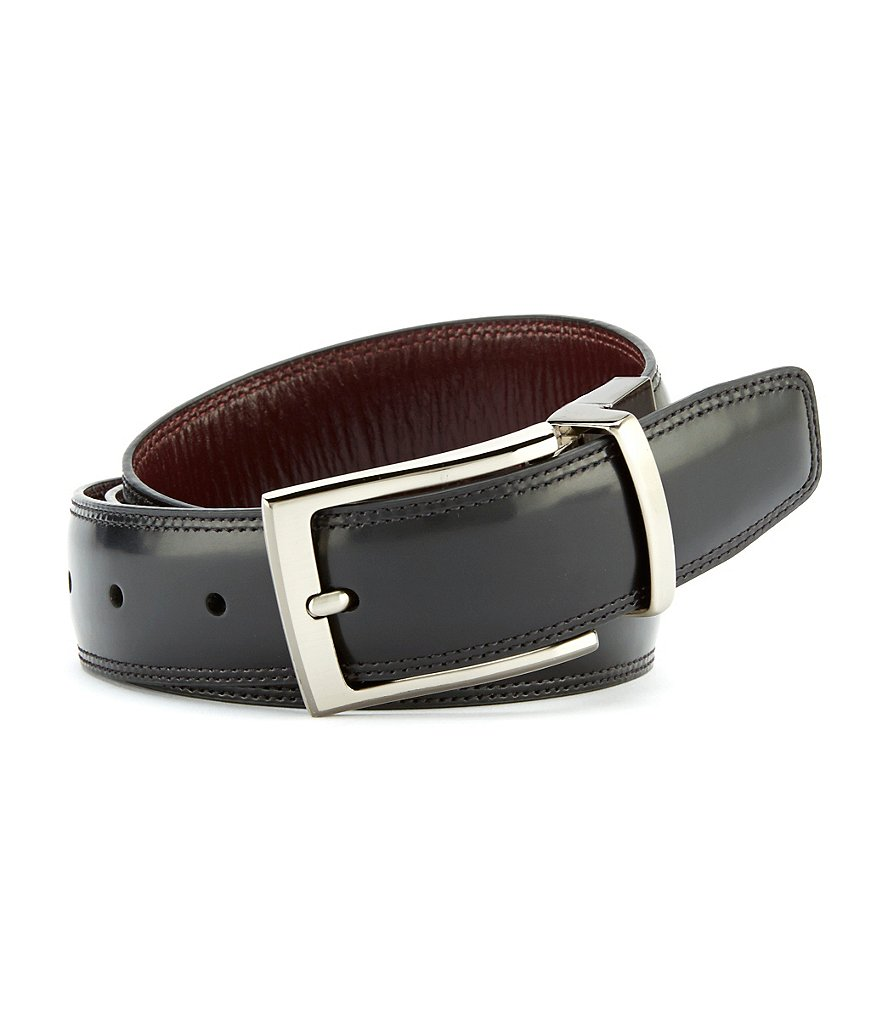 Cremieux Reversible Feather Edge Belt