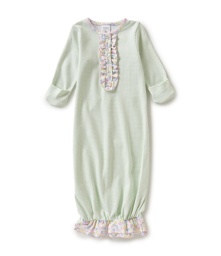 Starting Out Baby Girls Newborn-6 Months Ruffle Detailed Gown