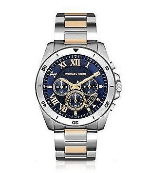 accessories watches men s watches dillards com michael kors men´s brecken two tone chronograph watch