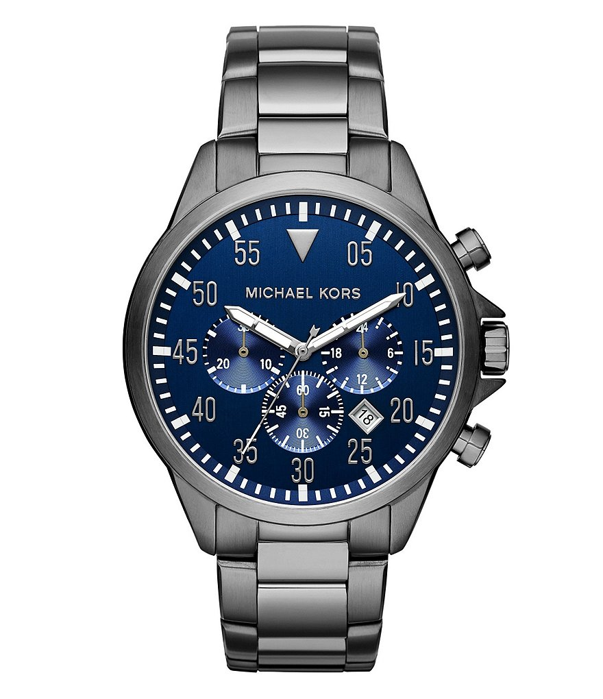 Michael Kors Men´s Gage Gunmetal Chronograph Watch