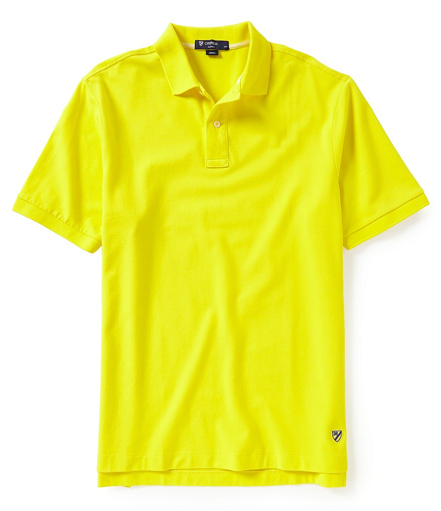 Cremieux Short-Sleeve Favorite Pique Polo Shirt