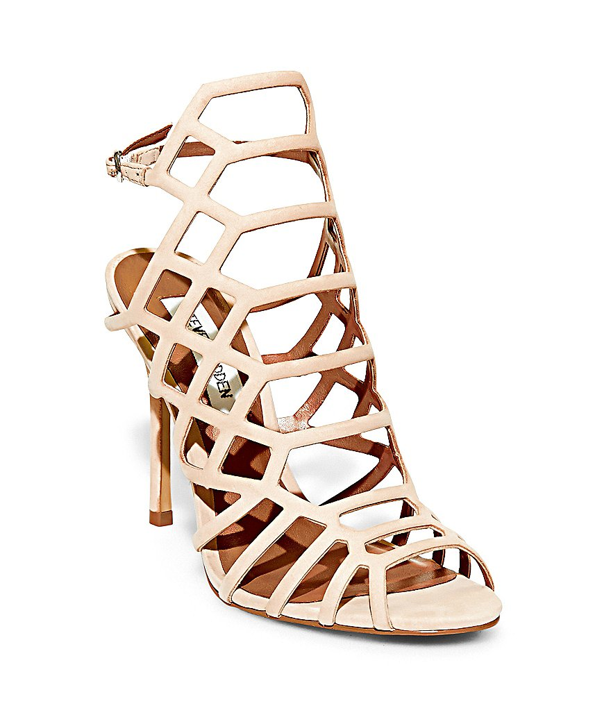 Steve Madden Slithur Caged Dress Sandals