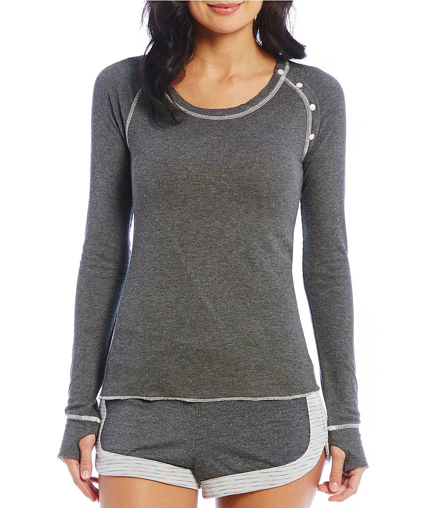 Honeydew Intimates Sleepover Raglan Lounge Top