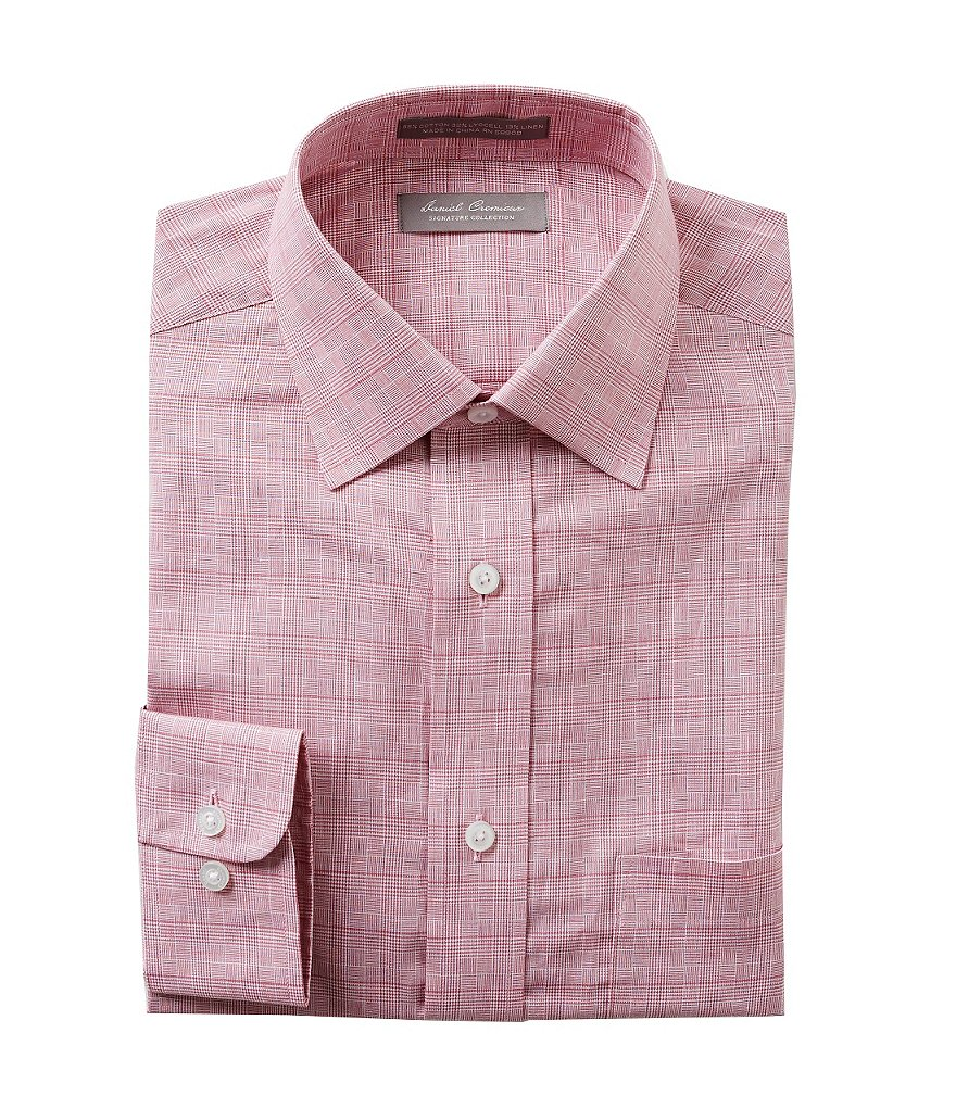Daniel Cremieux Signature Long-Sleeve Glen Plaid Woven Shirt