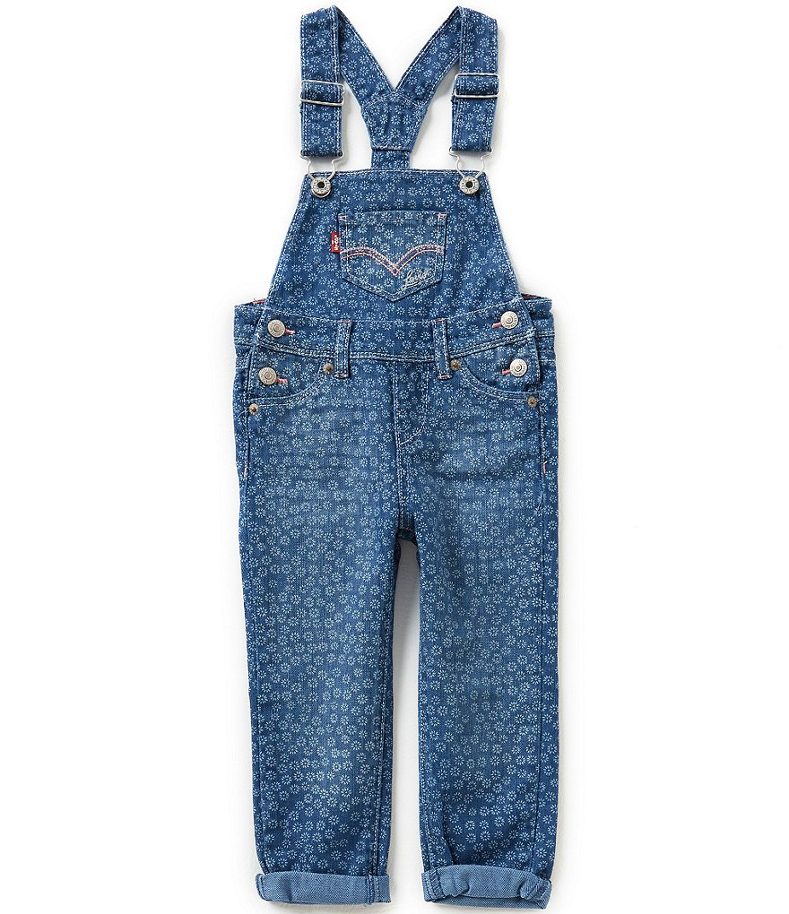 Levi´s Little Girls 2T-6X Stephanie Overalls
