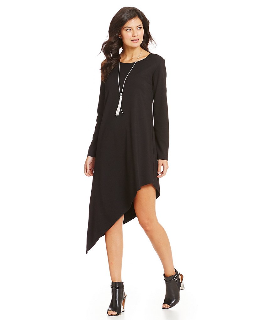 Bryn Walker Bertram Asymmetrical Modal Ponte Dress