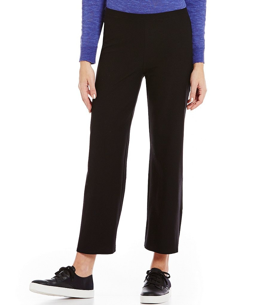 Eileen Fisher Straight Cropped Pants