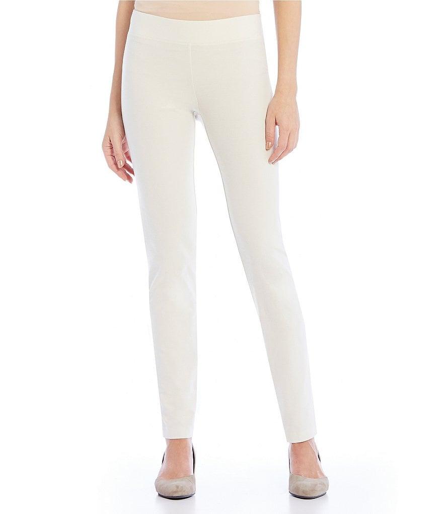 Eileen Fisher Stretch Crepe Slim Pants