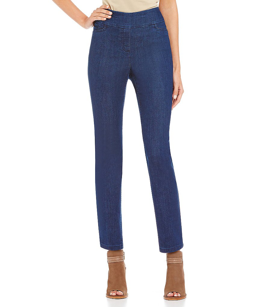 Westbound Petite the PARK AVE fit Slim Leg Pants