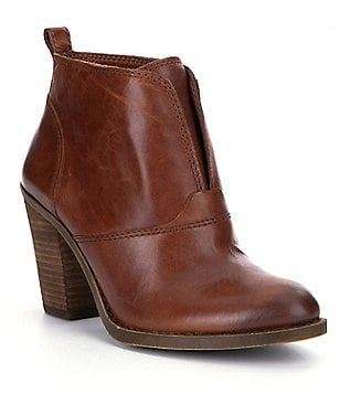 Lucky Brand Ehllen Faux Welt Leather Booties