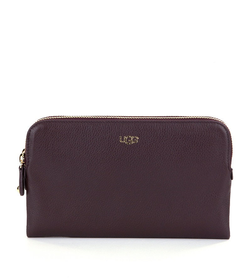 ugg australia double zip purse