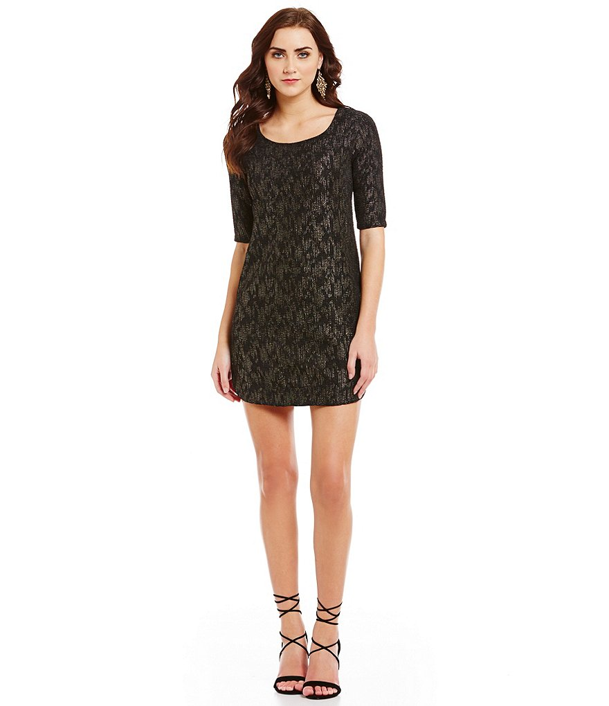 Collective Concepts Sparkle Knit Dress