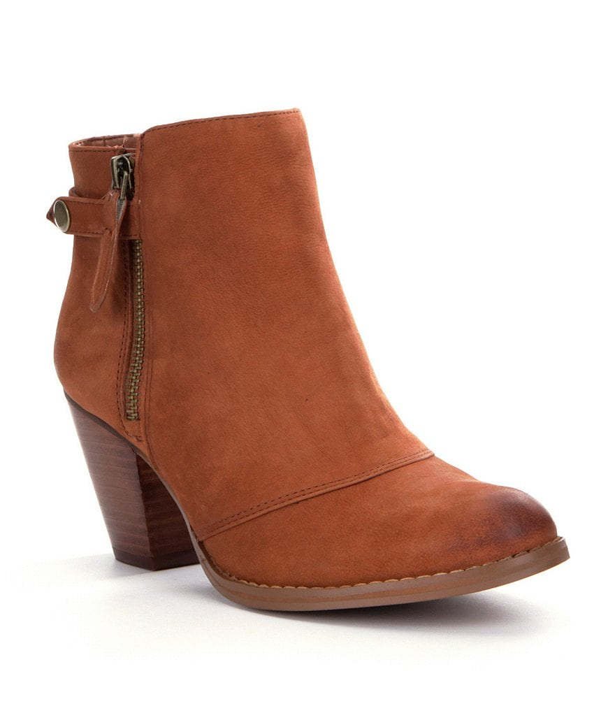 GB Giddee-Up Leather Booties