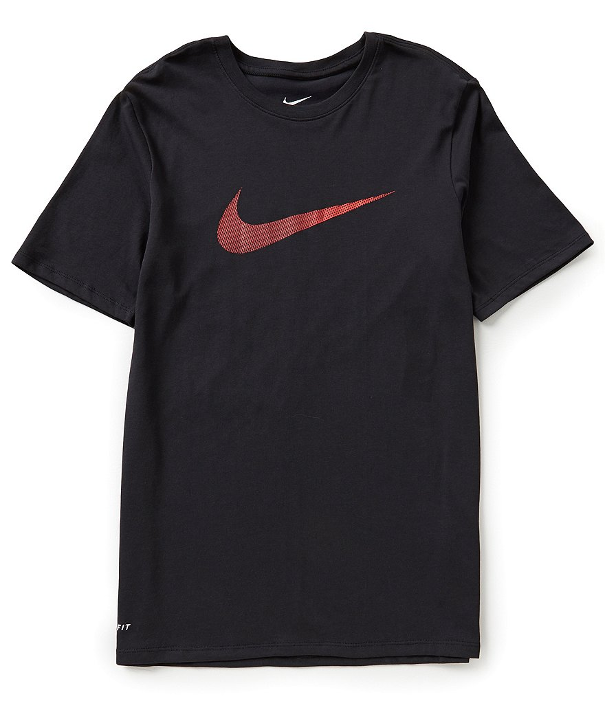 Nike Swoosh Dri-FIT Crewneck Cotton Tee