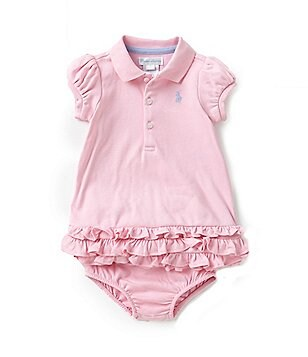 Ralph Lauren Childrenswear Baby Girls 3-24 Months Polo Cupcake Dress