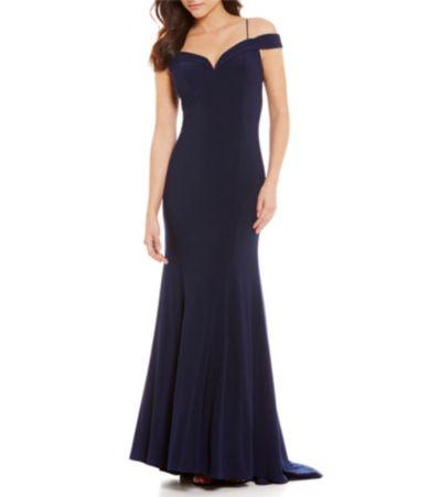 Long evening dresses at dillards