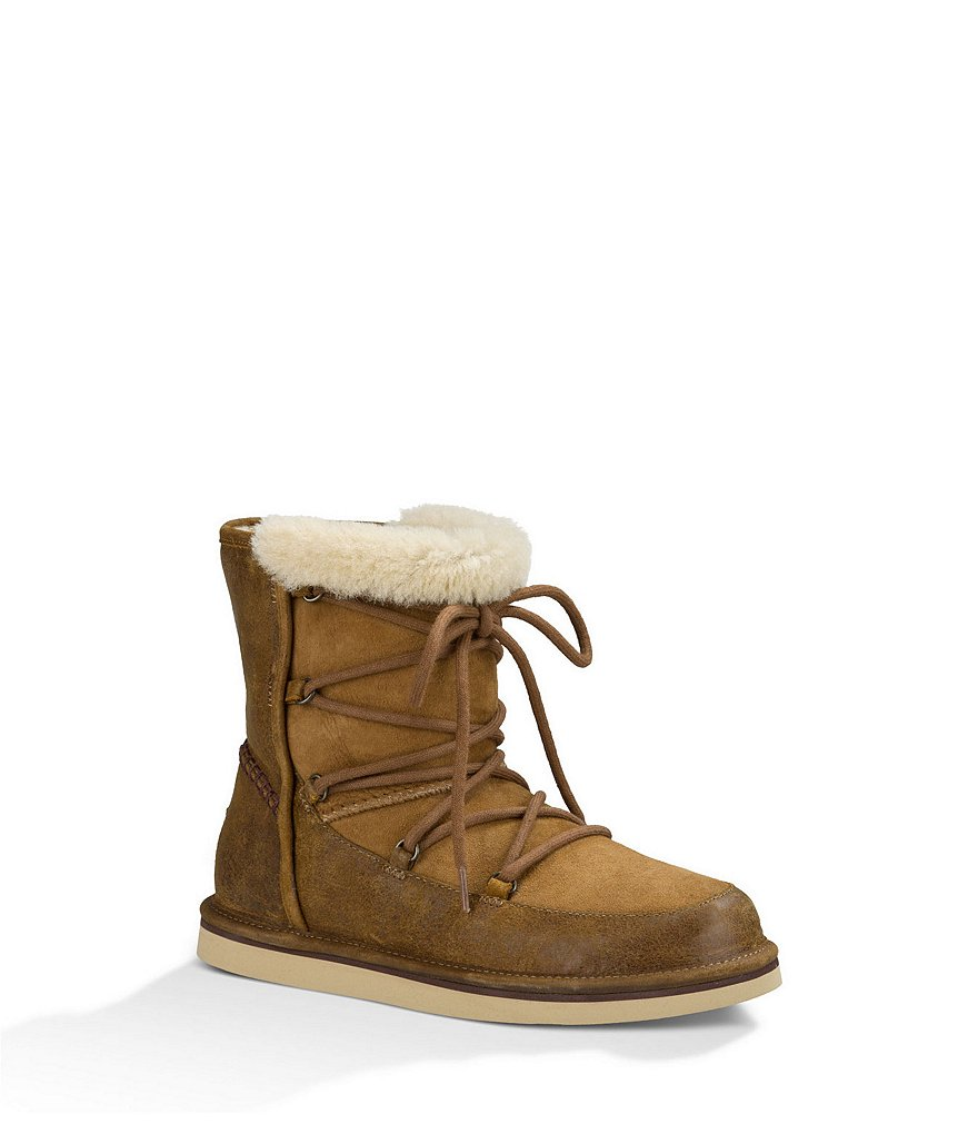 UGG® Lodge Cold-Weather Mid-Calf Boots