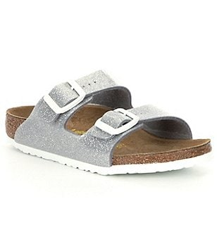 Birkenstock Girls´ Arizona Glittle Double Banded Slip On Casual Sandals