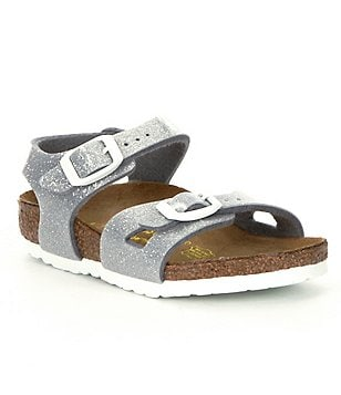 Birkenstock Girls´ Rio Glittle Ankle Strap Buckle Casual Sandals