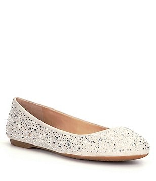Gianni Bini Calla Jeweled Ballet Flats