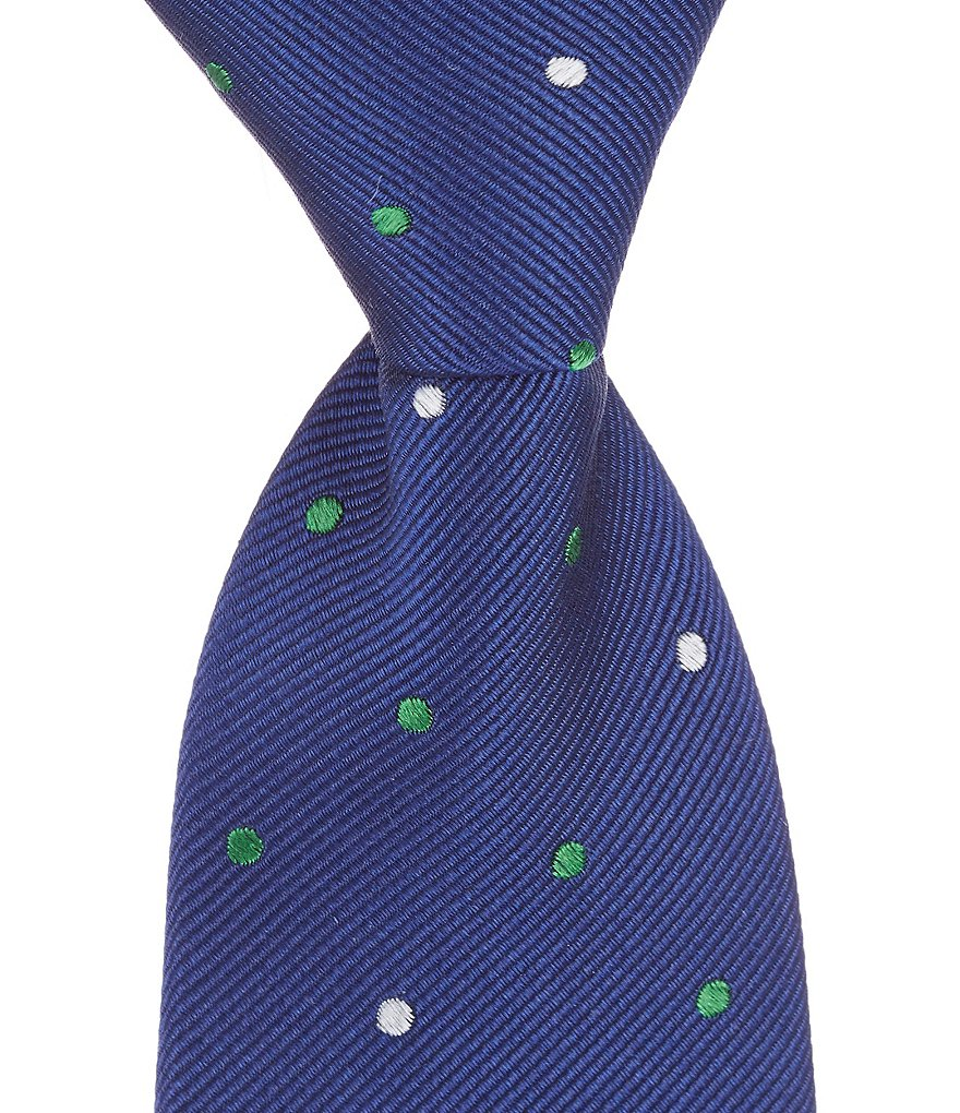 Class Club Dapper Bow Dotted Tie