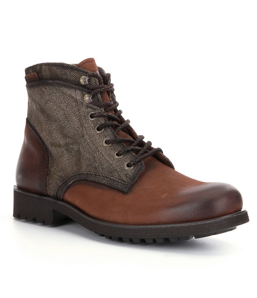 Wolverine Men´s Clarence Leather & Textile Lace-Up Boots