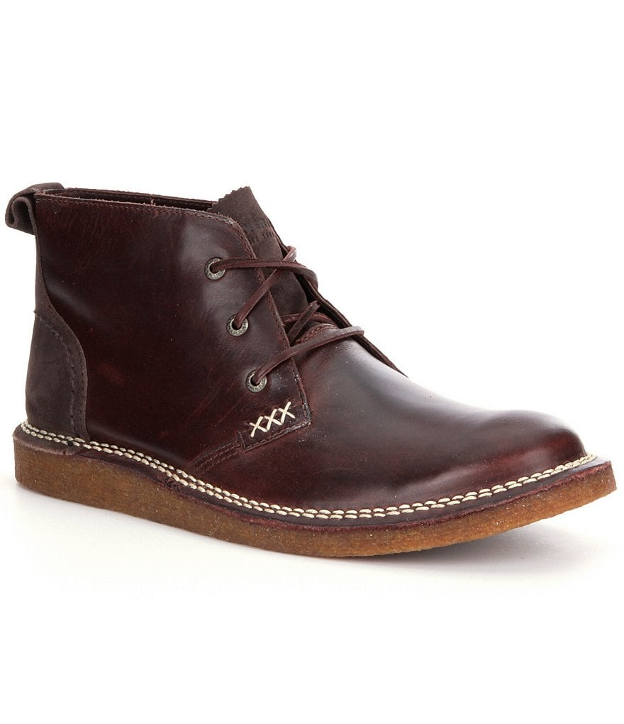 Wolverine Men´s Lionel Casual Leather Lace-Up Unlined Short Chukka Boots