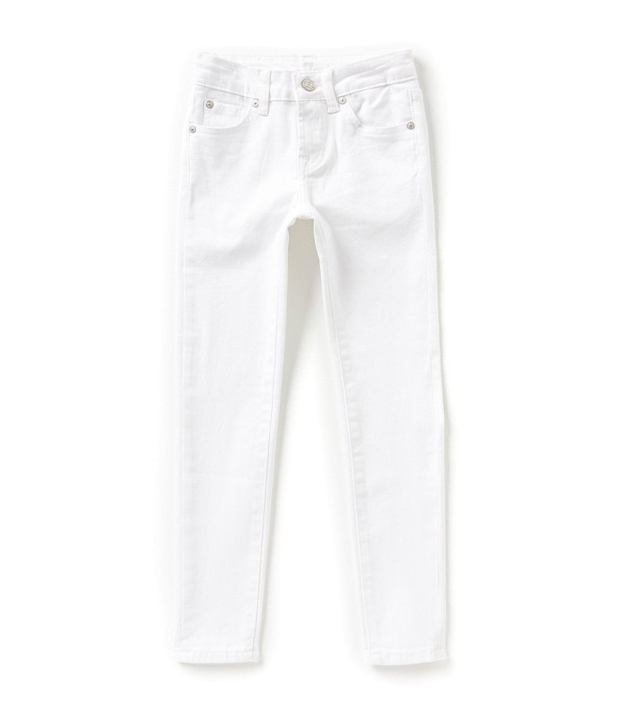 7 For All Mankind Big Girls 7-14 The Skinny 5-Pocket Stretch Jeans