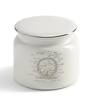 Southern Living Scroll Cotton Jar