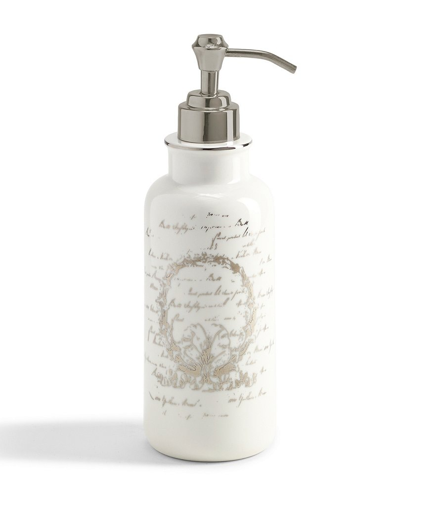 Southern Living Scroll Lotion Dispenser