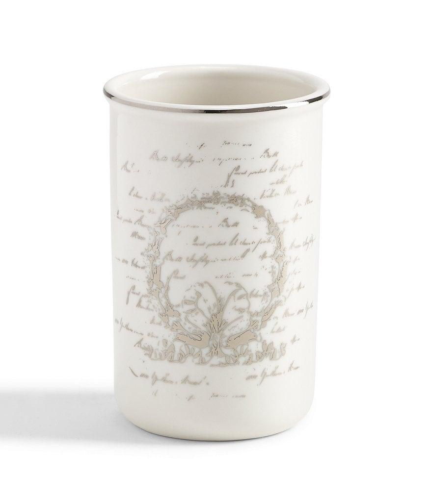 Southern Living Scroll Tumbler