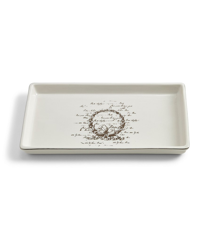 Southern Living Scroll Tray