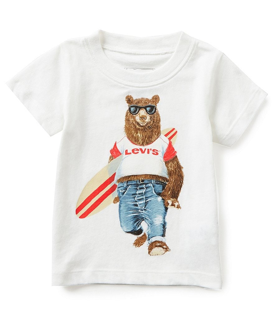 Levi´s® Baby Boys 12-24 Months Bear Graphic Tee