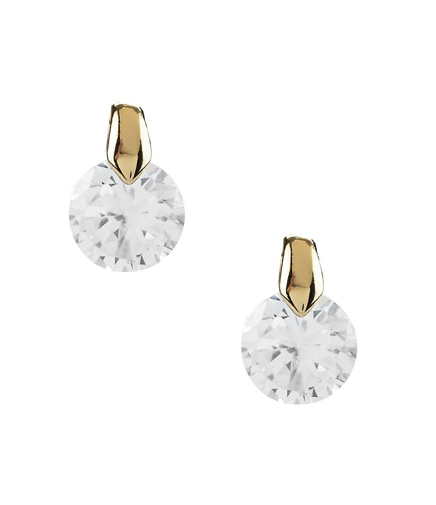 Anne Klein Cubic Zirconia Stud Earrings