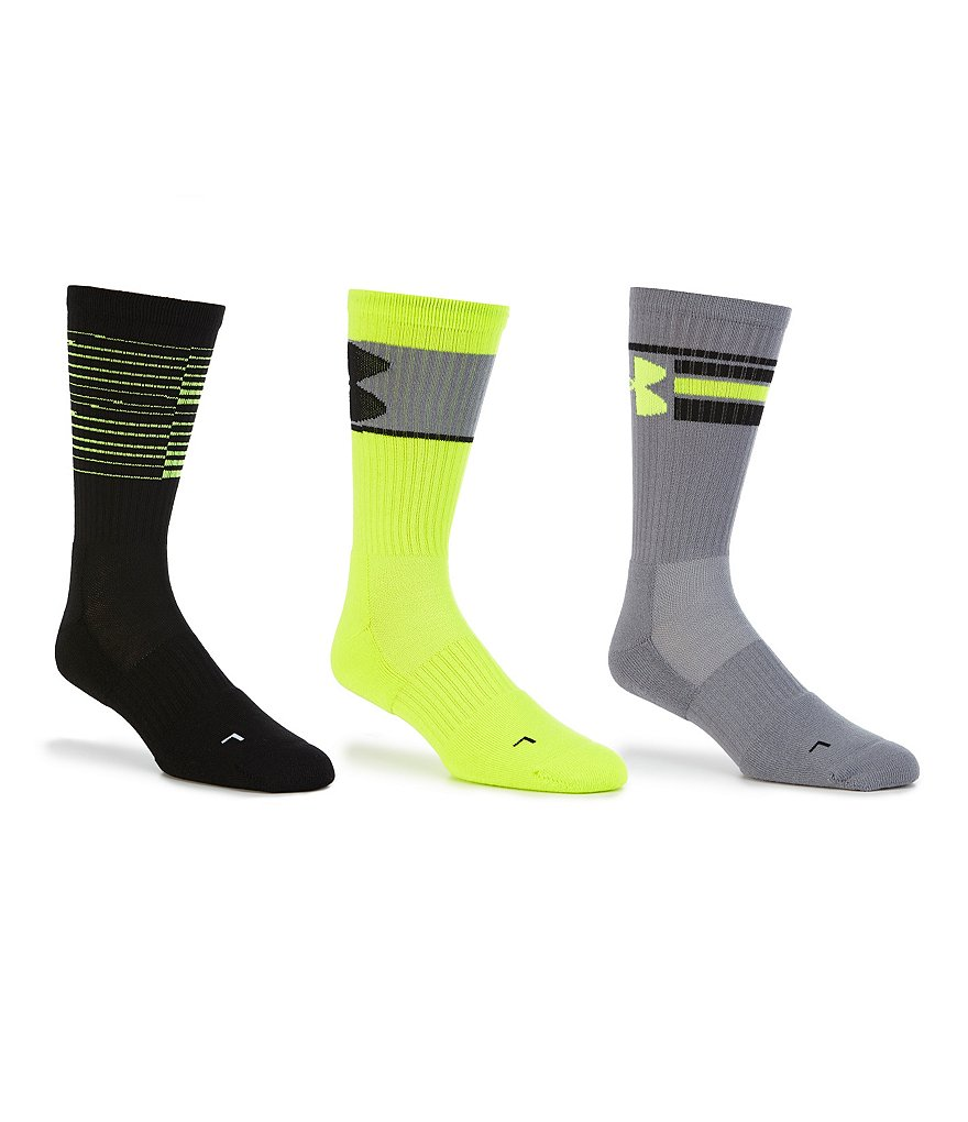 Under Armour Phenom Crew Socks 3-Pack
