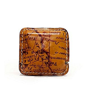 Patricia Nash Righello Leather-Covered Measuring Tape